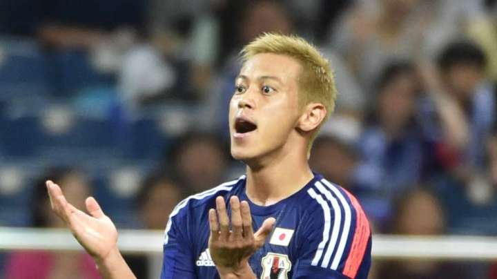 The blonde-haired Honda cut a frustrated figure back in June, but will be back with a vengeance. (cr: pulse.ng)