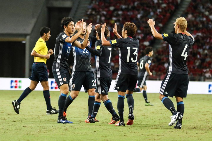 Japan proved too strong for the Lions (cr: voxsports)