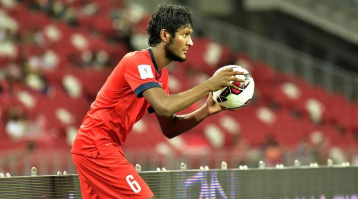 Madhu Mohana's long throws have become a trademark of his game. (cr: fourfourtwo)